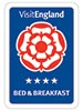 Enjoy England Tourism Four Star Bed and Breakfast Award, 4 Star B & B Award